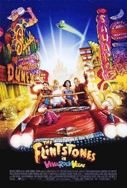 Film poster for The Flintstones in Viva Rock Vegas