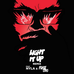 Major Lazer featuring Nyla and Fuse ODG - Light It Up (studio acapella)