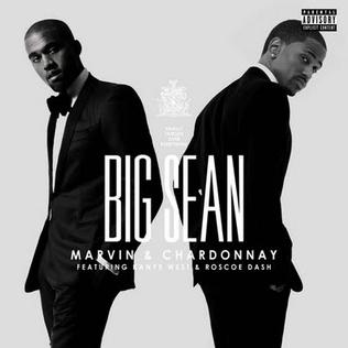 Big Sean featuring Kanye West and Roscoe Dash - Marvin & Chardonnay (studio acapella)