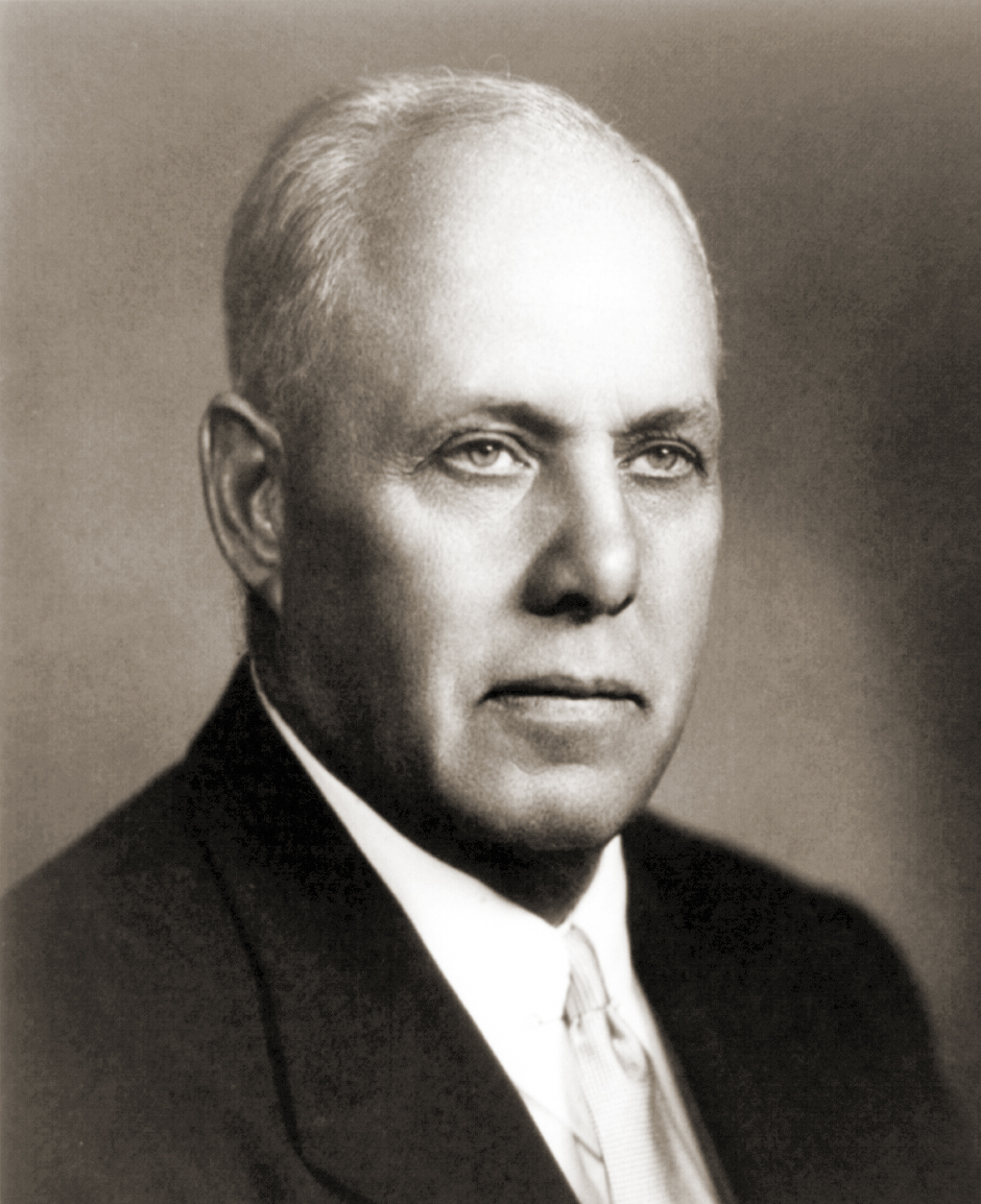 Portrait of George Meany