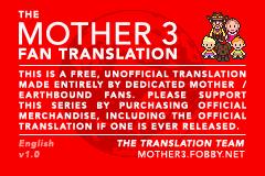 Mother 3 fan translation - Wikipedia
