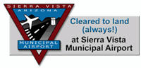 Sierra Vista Municipal Airport joint-use civil-military airport