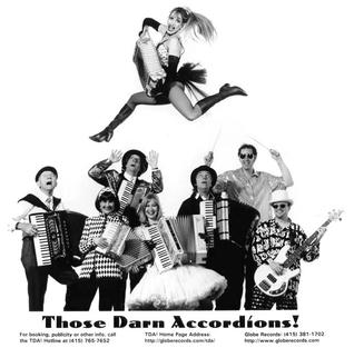 A promotional picture of Those Darn Accordions, circa 1996. TDApromo1996.jpg