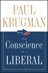 <i>The Conscience of a Liberal</i> book by Paul Krugman