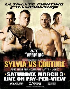 the ufc made an awesome poster and only sold it to 20 of us