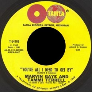 Youre All I Need to Get By 1968 single by Tammi Terrell and Marvin Gaye