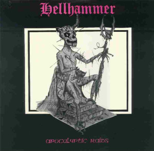 <i>Apocalyptic Raids</i> 1984 EP by Hellhammer