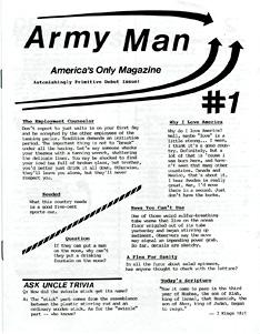 <i>Army Man</i> (magazine) Humor magazine