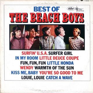 Best of The Beach Boys artwork