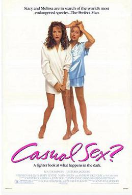 Film poster for Casual Sex? - Copyright 1988, ...