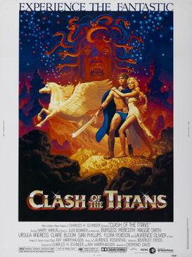 Image of Clash of the Titans movie poster