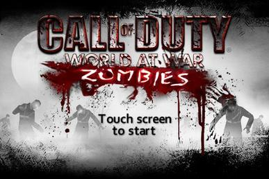 Call Of Duty Zombies Wikipedia