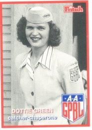 Dottie Green baseball card