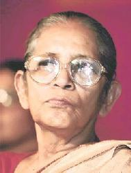 Geeta Mukherjee Indian politician