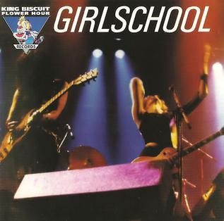 <i>King Biscuit Flower Hour Presents Girlschool</i> live album
