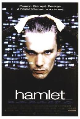 "Movie poster - Ethan Hawke in ""Hamlet"""