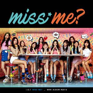 <i>Miss Me?</i> Extended play by South Korean girl group I.O.I