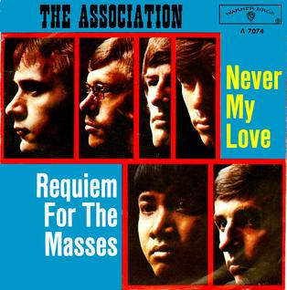 Never My Love 1967 single by The Association