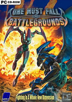 One Must Fall: Battlegrounds Cover Art