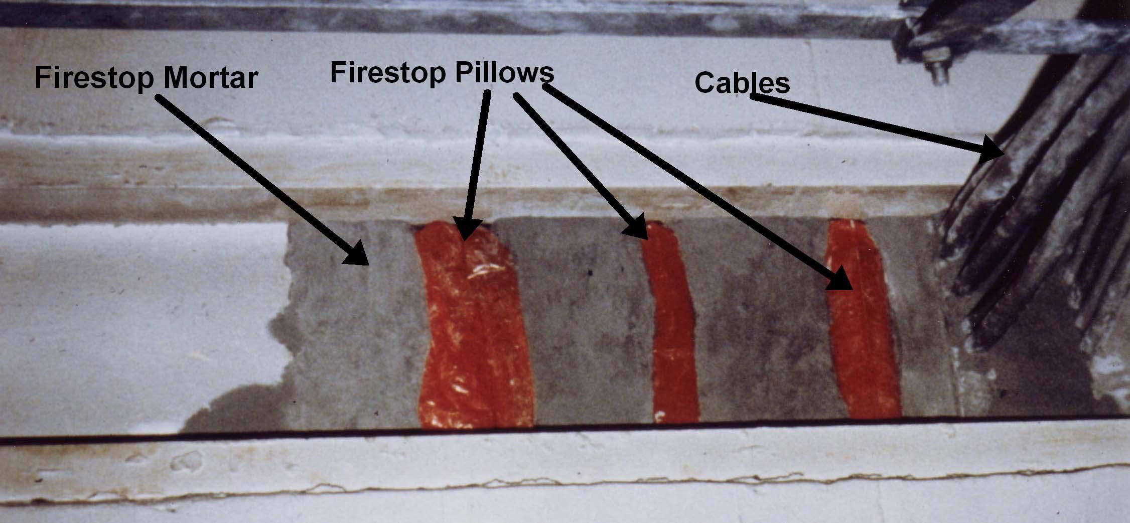 Firestop Pillow Videos