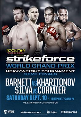 Strikeforce: Barnett vs. Kharitonov