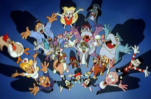 Animaniacs had a wide cast of characters. Show...