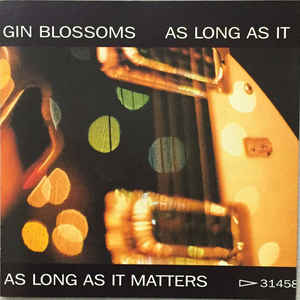 As Long as It Matters 1996 single by Gin Blossoms