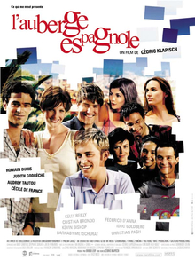 Aubergeespagnole Jpg French Theatrical Release Poster