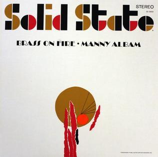 <i>Brass on Fire</i> album by Manny Albam
