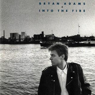 <i>Into the Fire</i> (album) 1987 studio album by Bryan Adams