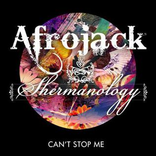 Cant Stop Me 2012 single by Afrojack