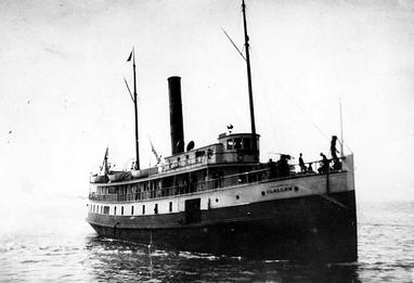 The steamboat Clallam