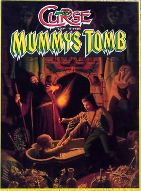 Curse of the Mummy's Tomb box cover