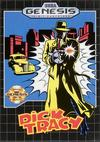 Dick Tracy Genesis box art