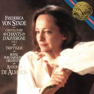 <i>Chants dAuvergne, Vol. 2</i> 1986 studio album by Frederica von Stade
