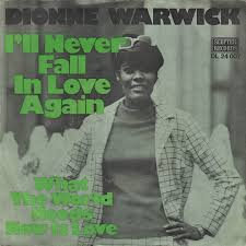 Ill Never Fall in Love Again Single by Burt Bacharach