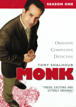 How many episodes of monk are there