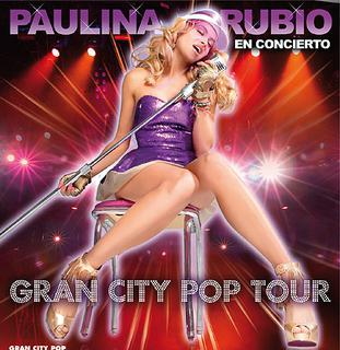 Gran City Pop Tour concert tour by Mexican pop and rock singer Paulina Rubio