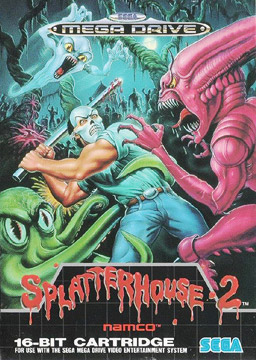 Splatterhouse 2 cover