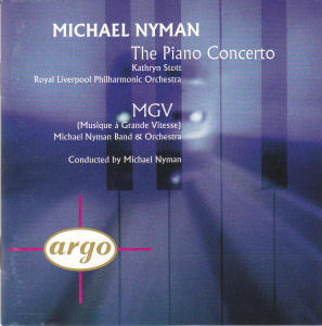 <i>The Piano Concerto/MGV</i> 1994 studio album by Michael Nyman