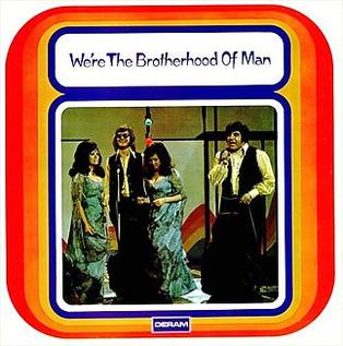 <i>Were the Brotherhood of Man</i> 1972 studio album by The Brotherhood of Man