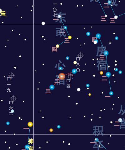Heart Chinese Constellation Wikipedia