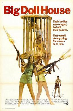 The Big Doll House (1971) movie poster