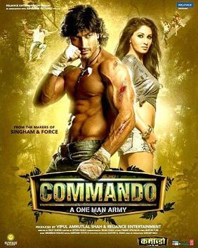 File:Commando (2013 fi... Vidyut Jamwal In Commando One Man Army