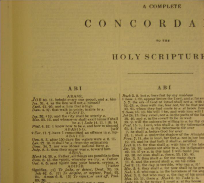 PDF BIBLE CONCORDANCE PDF DOWNLOAD