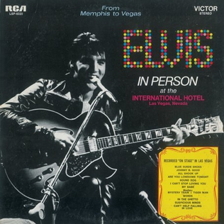 <i>From Memphis to Vegas / From Vegas to Memphis</i> 1969 studio album and live album by Elvis Presley