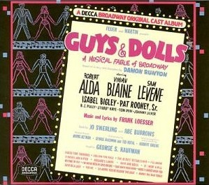 <i>Guys and Dolls</i> musical