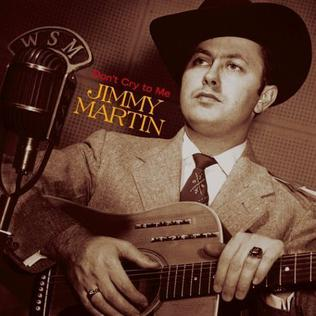 Jimmy Martin American bluegrass singer