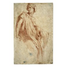 Study for the Phrygian Sibyl fresco by Raphael...