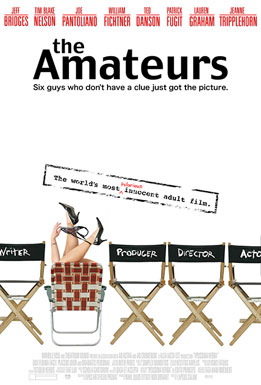 Movie release poster for The Amateurs, courtesy Metro-Goldwyn Mayer